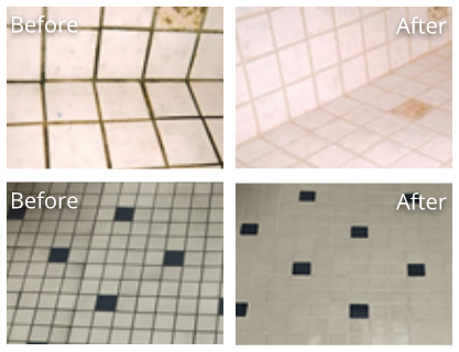 Tile Before and After
